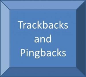 Trackbacks Pingbacks SEO