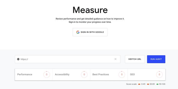 Google Website Grader Tool